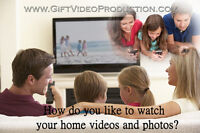 Professionally edited videos form your camcorder