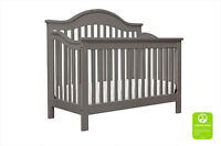 Jayden 4-in-1 Convertible Crib with Toddler Bed Conversion Kit