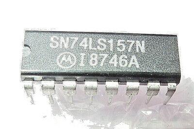 Quad Multiplexer - SN74LS157N 16-Pin DIP IC Quad Multiplexer