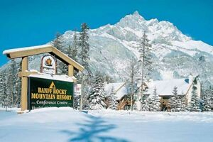 3 -nights over Christmas at Banff Rocky Mountain Resort