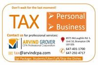 TAX - PERSONAL/BUSINESS