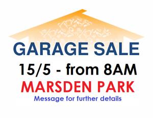 MOVING OUT - Garage Sale! MARSDEN PARK! 15/5/21