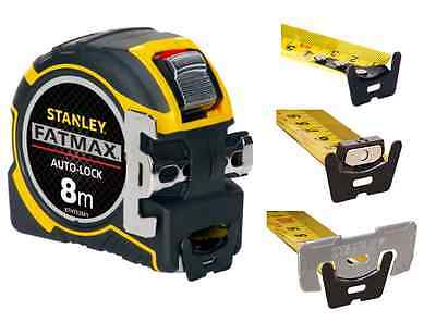 Stanley FatMax Roll-Bandmaß 8m magnetischer Haken Maßband XTHT0-33501 Blade Amor