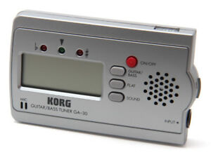 Korg GA-30 Compact Guitar and Bass Tuner