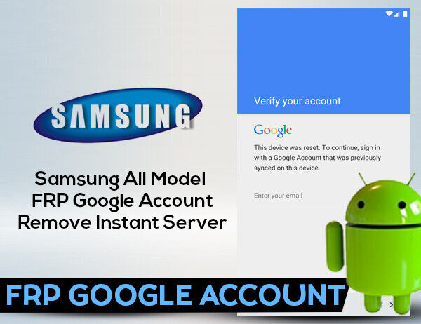 FRP SAMSUNG IN ONE MINUTE ALL SUPPORTED MODELS - $12.50
