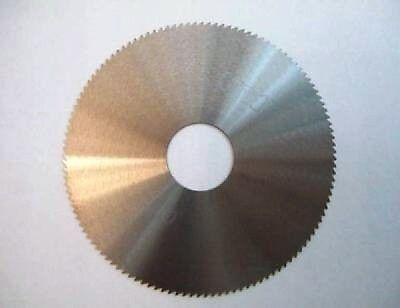 "Solid Carbide Slotting Slitting Jeweler Blade Saw 2"" OD .010 Thickness Metal New"