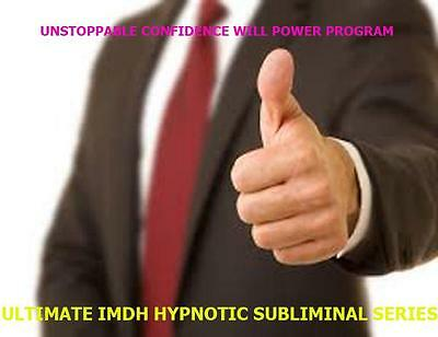 Unstoppable Confidence Will Power Ultrasonic Subliminal Hypnosis Audio CD DVD