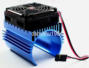 Hobbywing-Ezrun-C4-5V-Cooling-Fan-44-x-65mm-Motor-Heat-Sink-System-For-1-8-Car