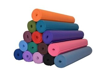 Yoga Mat 1/8'' Lightweight with Carry Strap