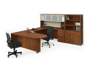 office furniture workstations desks chairs Reception used and ne