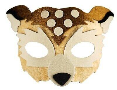 FABRIC OWL EYE MASK FURRY CHILDRENS ADULTS FANCY - Owl Mask