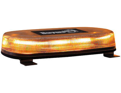 Buyers Products 15.0 Oval Amber Led Mini Light Bar W Permanent Mount 8891071