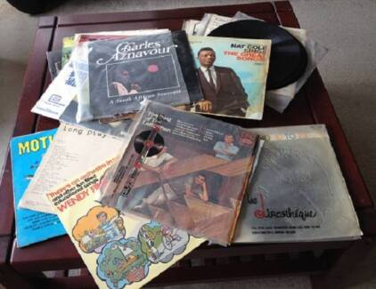 Records, LP's, used, as is, as shown in photo, $20 the lot
