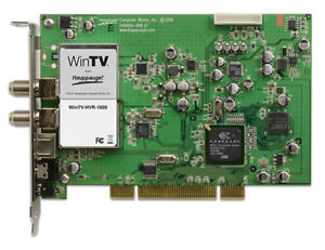 Hauppauge WinTV-HVR-1600 (Watch HDTV on your PC)