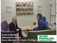 Macmillan Volunteer Cancer Information and Support Services
