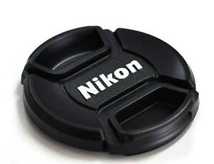 62mm Center Pinch Snap-On Front Lens Cap Hood Cover for Nikon Lens Filter