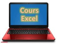 Excel ** Teachings with Exercices based on Practice (40$)