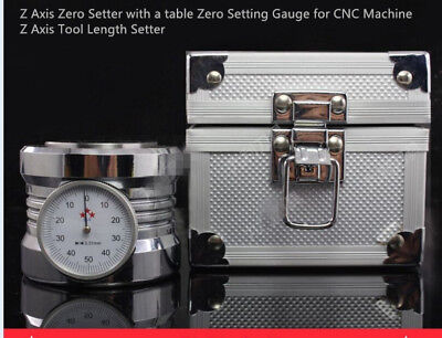 Z Axis Zero Setter With A Table Zero Setting Gauge For Cnc Machine 50 - 0.005m