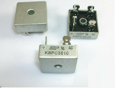 1pcs Bridge Rectifier Kbpc3510 Kbpc-3510 35a 1000v New