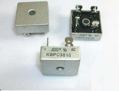 1pcs Bridge Rectifier Kbpc3510 Kbpc-3510 35a 1000v New