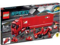 LEGO- Speed Champions, Ferrari Truck