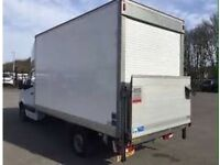 TRUCK ANY LUTON VAN MAN HIRE RENT MOVE COMMERCIAL HOUSE OFFICE FURNITURE REMOVALS SERVICES DELIVERY