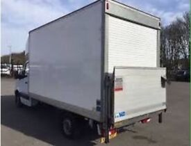 TRUCK ANY LUTON MAN VAN HIRE RENT MOVE COMMERCIAL HOUSE OFFICE FURNITURE REMOVALS SERVICES DELIVERY