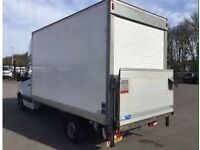MAN WITH LUTON TAIL LIFT VAN TRUCK URGENT SHORT NOTICE HOUSE/OFFICE REMOVALS/MOVING/PIANO/DELIVERY