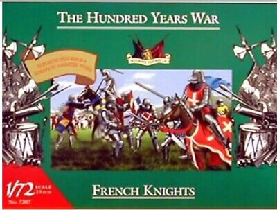 Accurate Figurines 7207 The Hundred Years War French Knights 1:72
