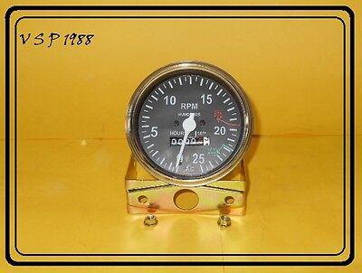 Allis Chalmers Tractor Tachometer 180 185 200 210 220 190 190xt Gas Diesel