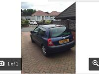 BARGAIN FAST SALE NEEDED Reno clio