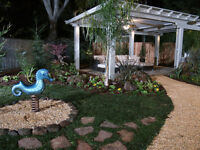 landscaping,demo,potholes,linepainting,water features,irrigation