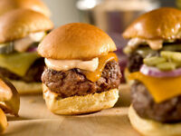 CATERING FOR YOUR PARTY FRESHLY MADE CHICKEN AND BEEF SLIDERS