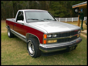Wanted: 1990s or older chevy truck