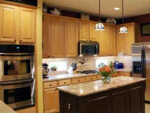 *** KITCHEN CABINET REFACING - COUNTERTOP REPLACEMENT ***