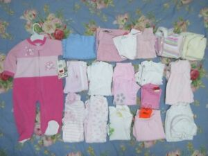 23 items clothes lot 6-12 months Girls *Some NEW* ~NEED GONE!!