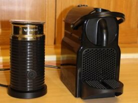 Like New - Nespresso Machine with Aerocchino