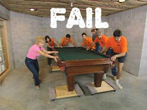 Pool Table Moves, Installation, Recovers, Ottawa/Gatineau Gatineau Ottawa / Gatineau Area image 3