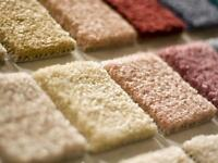 carpet & pad& installation $1.80 sq.ft 40% off re-stetch repairs