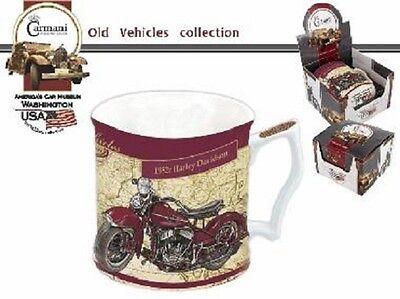 Tolle Tasse 1952r und 1949r Harley Davidson von Carmani neu