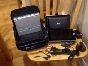 LG portable dvd/cd and AKAI dvd/cd - EXCELLENT CONDITION