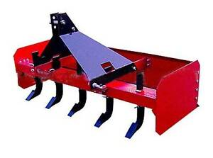 BOX GRADER BLADE LEVELLING SCRAPER 6FT 6 RIPPERS FOR TRACTOR Ringwood Maroondah Area Preview