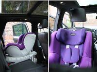 Britax Dualfix Car seat 360 degree spin