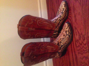 Men's Lucchese Snakeskin Boots