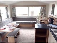 Modern 3 bedroom caravan for sale at Ashcroft Coast Holiday Park dont delay book today!!!