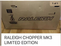 Raleigh chopper mk3 limited edition new