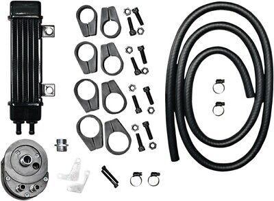 Jagg SlimeLine Frame-Mount 6-Row Oil Cooler System #750-1200 Harley Davidson
