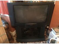 Toshiba heavy duty tv with stand