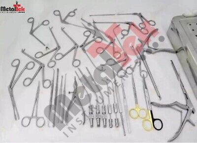 Fess Instruments Endoscopic Sinus Surgery Ent Instruments Complete 30 Pcs Set