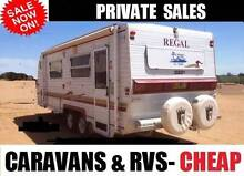 CARAVANS &MOTOR HOMES going cheap Jayco Roma galaxy Melbourne CBD Melbourne City Preview
